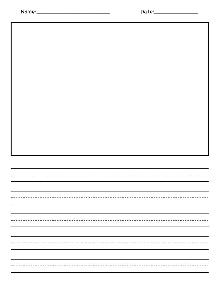 Blank Picture and Writing Paper.pdf Primary writing