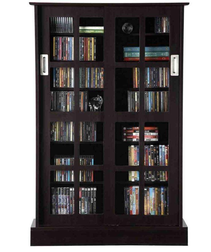 dvd cabinet with doors