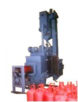 SPECIAL PURPOSE EQUIPMENT  LPG Cylinder Cleaning Machine  Skew Roll arrangement is also used for LPG Cylinder Cleaning.