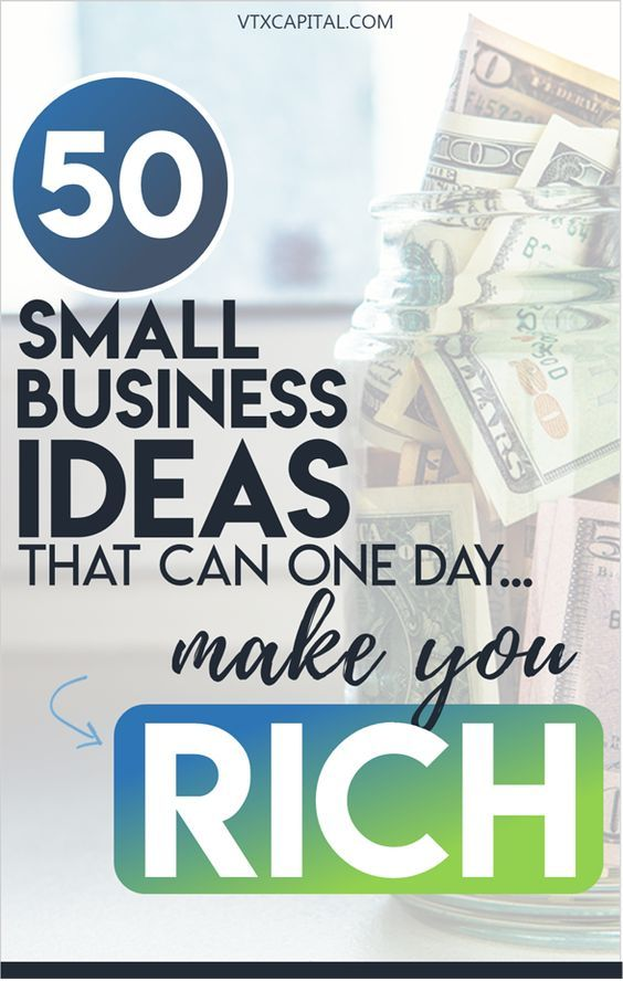 50 practical small business ideas that have the potential to one day make you rich. You can start nearly everyone of these, for cheap or even free, using skills you already have. According to an Inc. report, small business owners report being happier and healthier -- a perk I know I enjoy because of this list of small scale business ideas! #smallbiz #smallbusiness #business