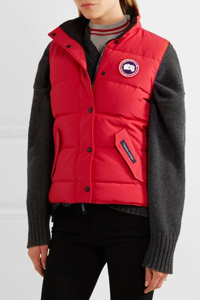 Canada Goose - Freestyle Quilted Shell Down Gilet - Red - xx small