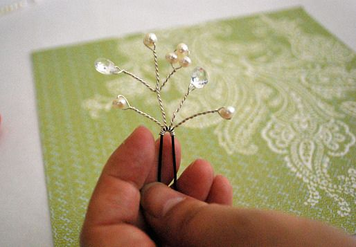 Make your own Bridal Hairpins