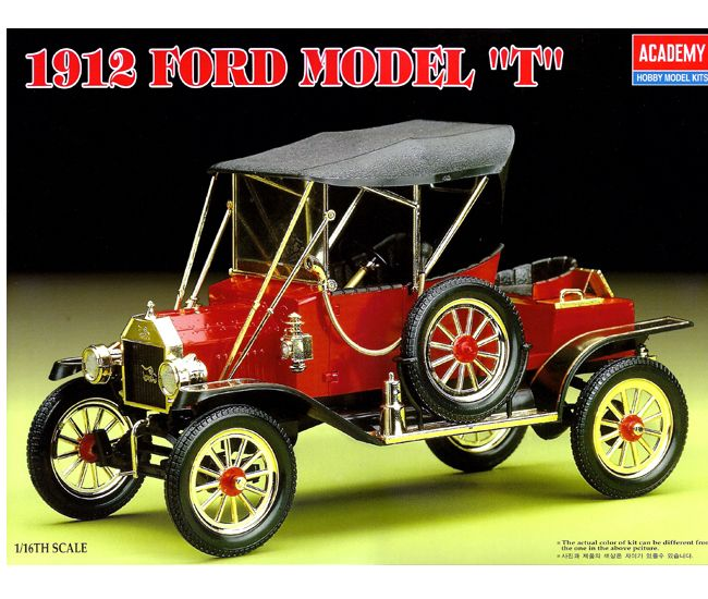 $32.50 Ford Model T 1/16th scale plastic model cars