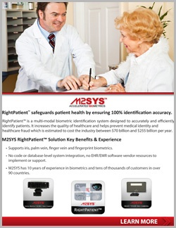 RightPatient™ biometric technology Brochure