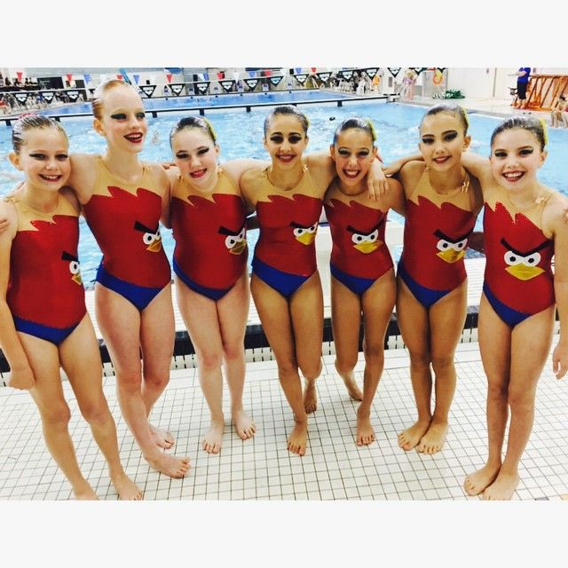 Why we love synchro? Because the feeling you get after all your hard work pays off and you have the best swim of the season is indescribable! #torontosynchro #ooagssc #goteam