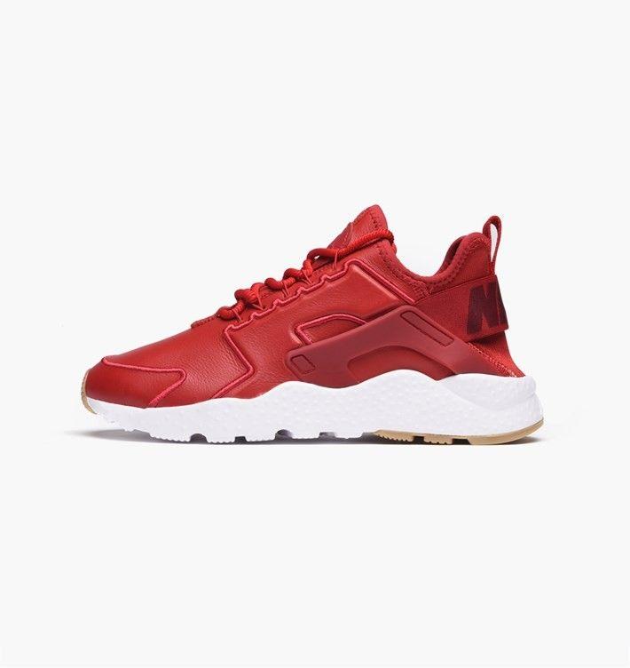 ea1618f496e6f Nike Air Huarache Run Ultra Si Gym Red White Sale