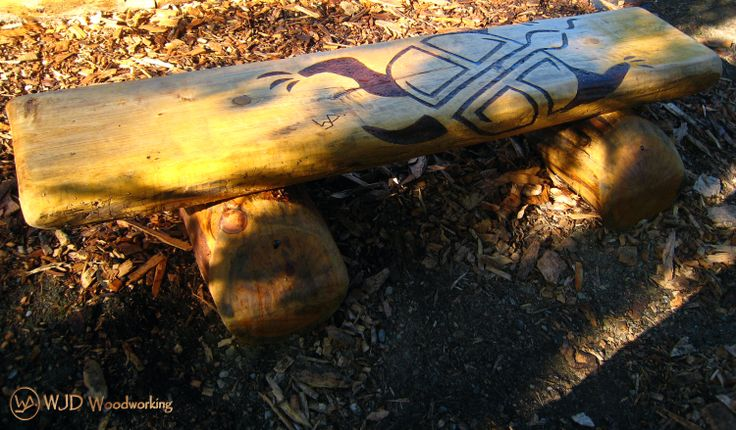 The Turtle 1 of 4 benches created for the Medicine Wheel Garden at Heart Lake Conservation Area Toronto and Region Conservation Authority