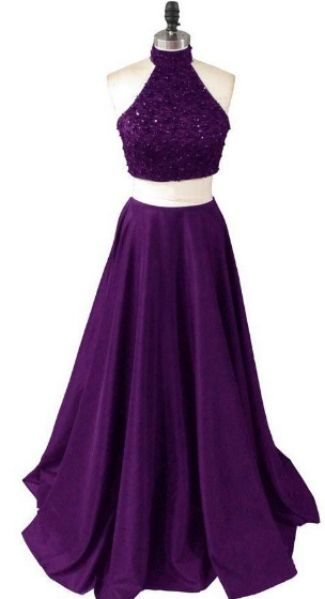 A-line/Princess Prom Dresses, Purple Prom Dresses, Two Piece Prom Dresses, Two Piece Purple Prom Dresses With Beaded/Beading Floor-length Halter Sale Online, Cheap Prom Dresses, Two Piece Dresses, Prom Dresses Cheap, Long Prom Dresses, Cheap Dresses Online, Cheap Long Prom Dresses, Cheap Long Dresses, Prom Dresses Online, Halter Prom Dresses, Long Purple dresses, Prom Dresses Long, Long Dresses Cheap, Cheap Prom Dresses Online, Prom dresses Sale, Cheap Purple Dresses, Purple Dresses Ch...