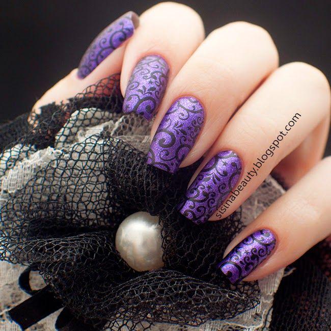 Sisina Beauty : Winter 11DNC day 5: фиолетовый лак. EL CORAZON Mat...
