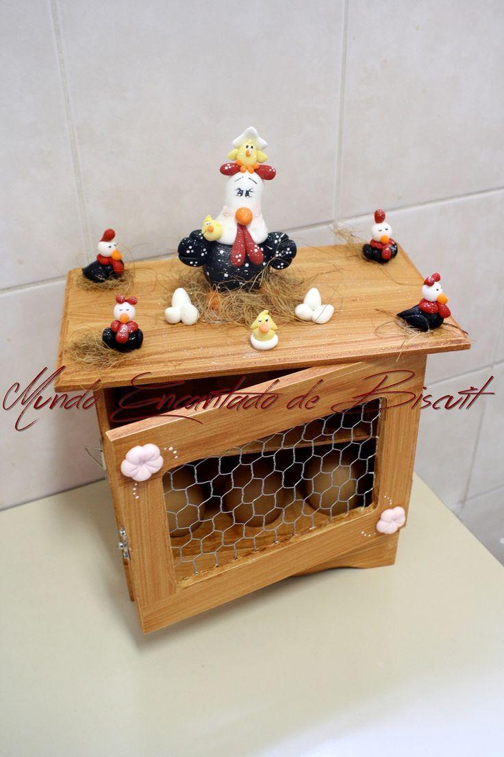 Porta Ovos | Mundo Encantado de Biscuit | Elo7