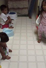 Potty Training Videos For Toddlers To Watch Online. With much success Kate has potty trained Leah, Hannah, and Alexis. Now Kate turns her attention to try and potty train Joel, Collin, and Aaden but one of the boys remains determined to stay in diapers.