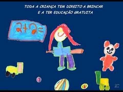 Os direitos da criança, apresentados pelas crianças do Jardim de Infância Maria Luciana Seruca - Paço de Arcos