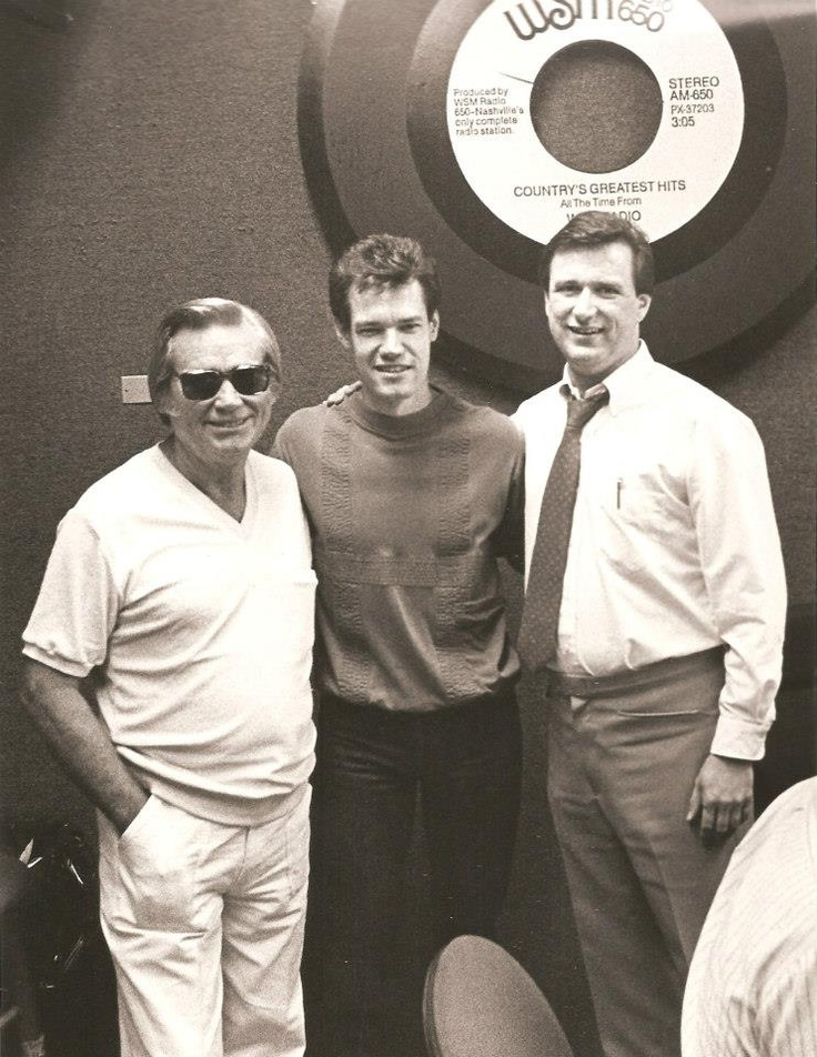 George Jones, Randy Travis & Keith Bilbrey [Courtesy Keith ...