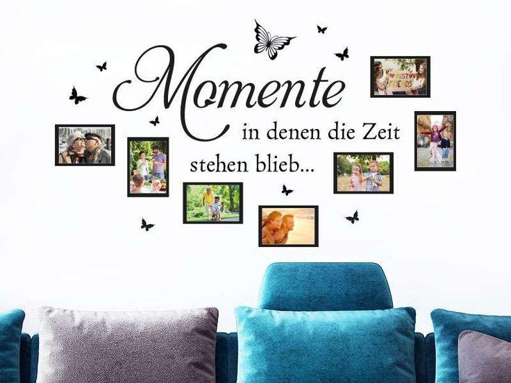 Popular Wandtattoo Fotorahmen Momente