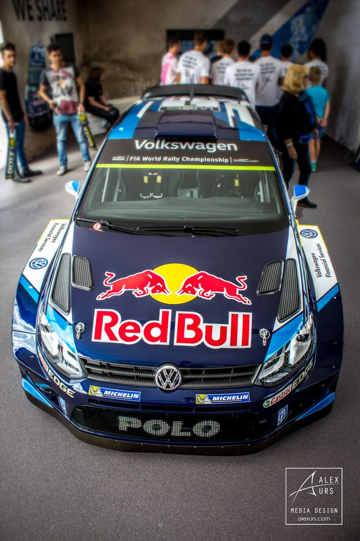 Top View VW Polo R WRC