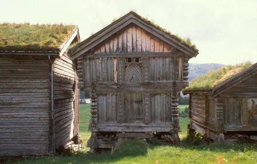 Nedre Mo Vinje Telemark in Norway