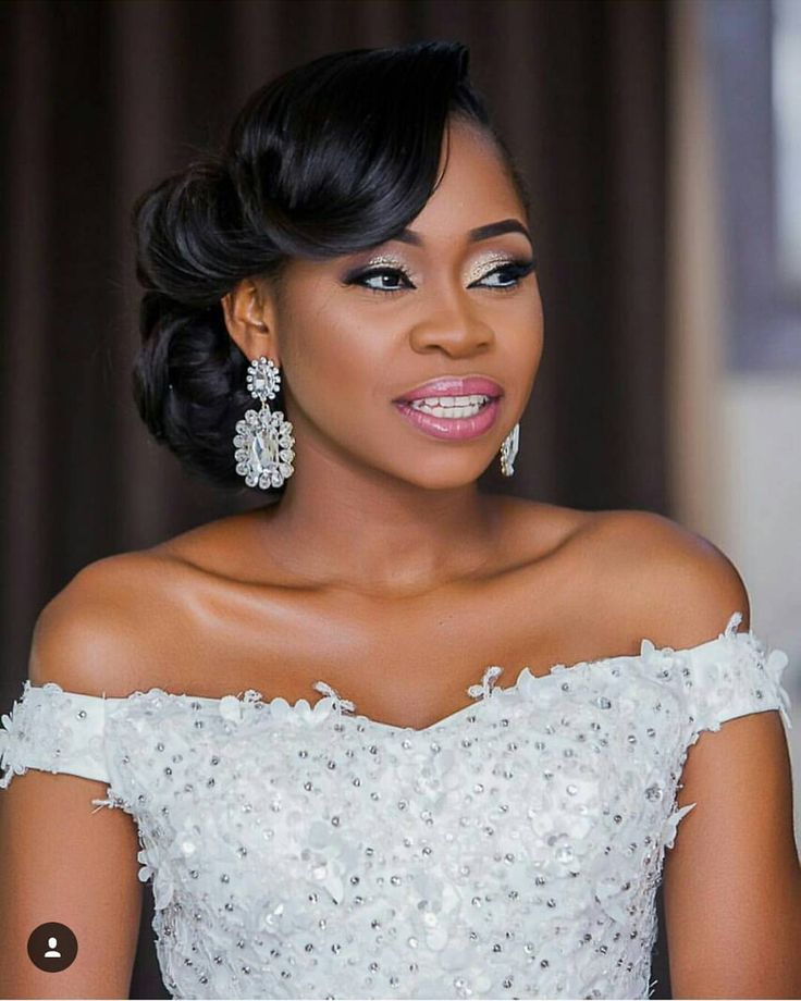 """268 Likes, 6 Comments - bridesnmore (@bridesnmoreikeja) on Instagram: """"Peju looking like a million bucks...so froshh.... Makeup @hermosaa_ng....hair…"""""""