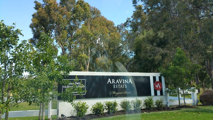 Aravinia Estate entrance