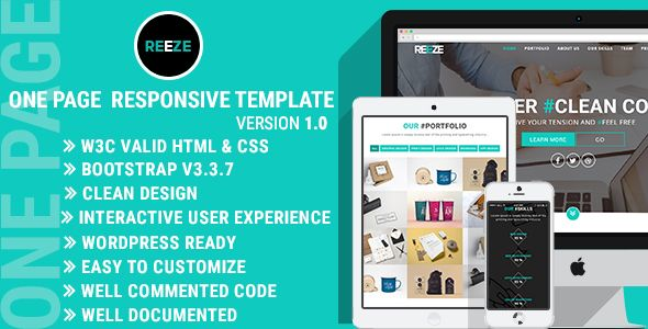 Charm - Responsive One Page Portfolio   CV   Resume Template - resume template website