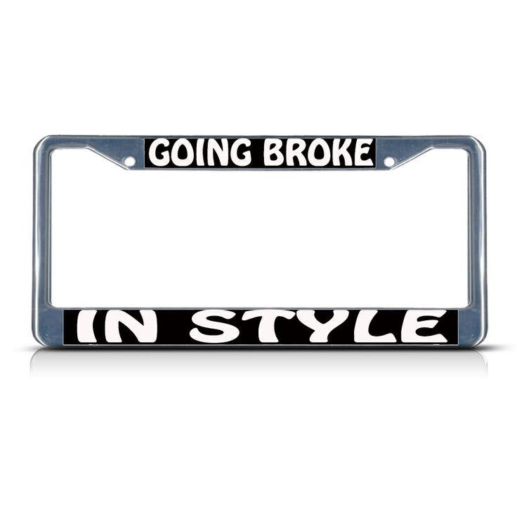 34 Best Humor Funny License Plate Frames Images On