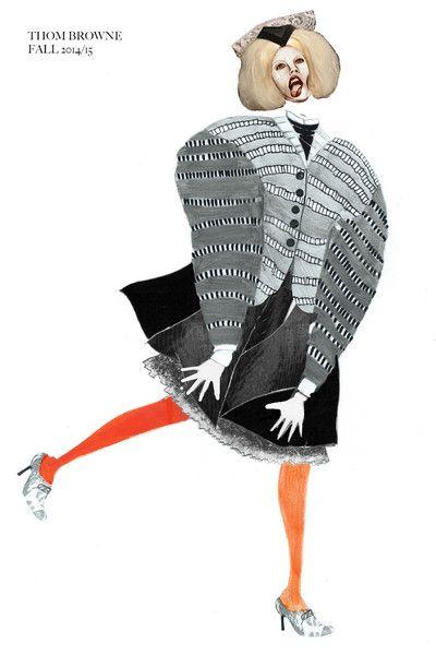2 015 Первый год Иллюстрация   Университет визуальной портфолио Вестминстера   BOF Карьера   Бизнес моды