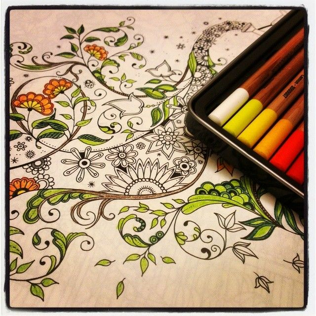 ShareIG 100happydays Day10 We Sell The Secret Garden Coloring Book At