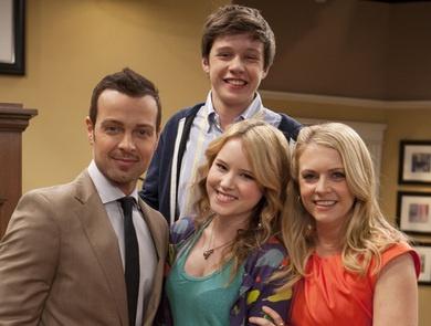 Mel, Joe, Lennox, and Ryder from Melissa Joey