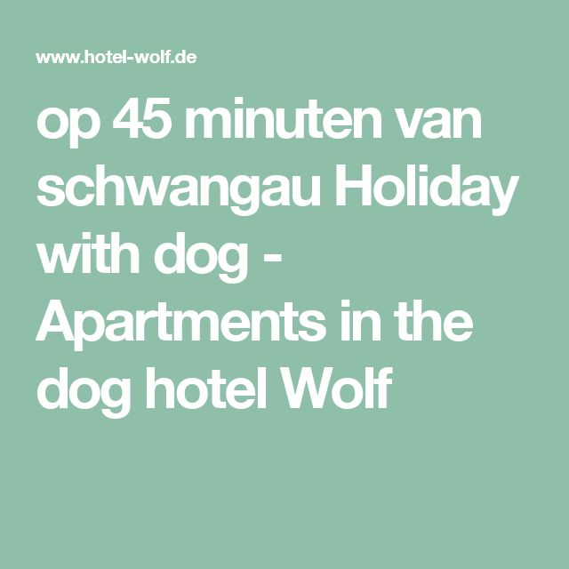 op 45 minuten van schwangau Holiday with dog - Apartments in the dog hotel Wolf