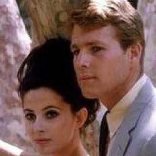 Ryan O'Neil and Barbara Parkins Peyton Place 1963