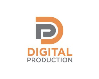 DigitalProduction Logo design - Impacful logo, combination of letters D and P .  Modern, minimalist and easy to remember,it can be the symbol of your business in : Media,communication,creative, events,production, technology,digital product, web, security, retail, services, broker , real estate..ecc businesses with initial letters DP or PD  Price $199.00