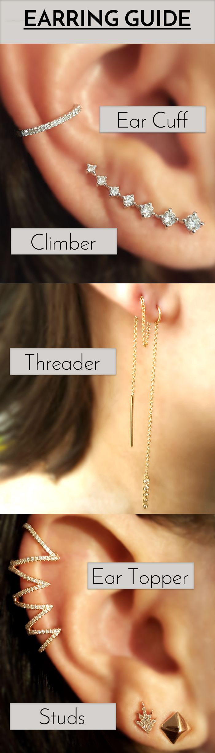 I really like the ear threaders. They are really cool.