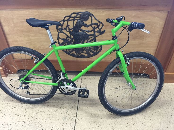 Reconditioned 1993 Specialized Hardrock. Custom paint by Dog House Powder coat. $200.  SOLD