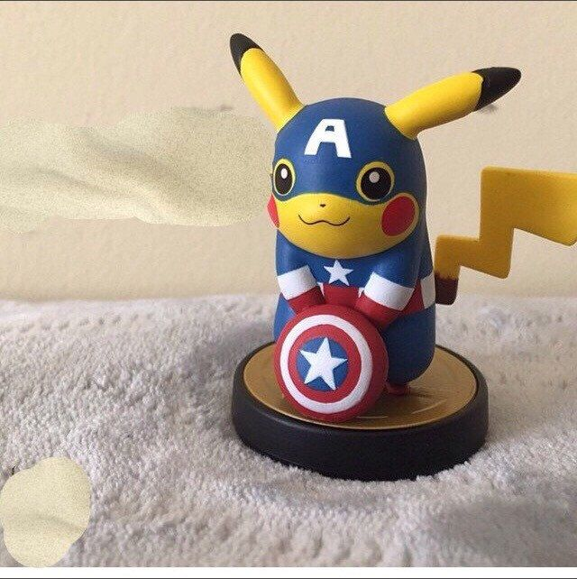 A personal favorite from my Etsy shop https://www.etsy.com/listing/232567080/custom-pikachu-amiibo-for-super-smash