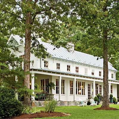 Dream home... Architect Bethany Puopolo's farmhouse, from Southern Living.