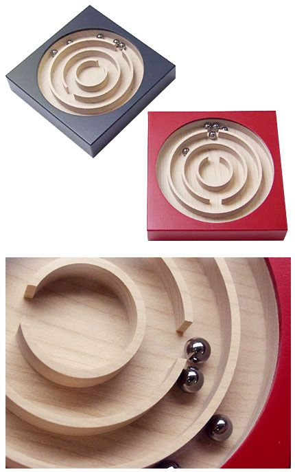 Naef Labyrinth Wooden Marble Run Toy Maze