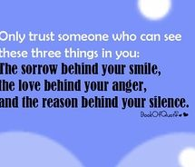 .: Sayings, Life, Inspiration, Quotes, Trust, Truth, Three Things, Thought