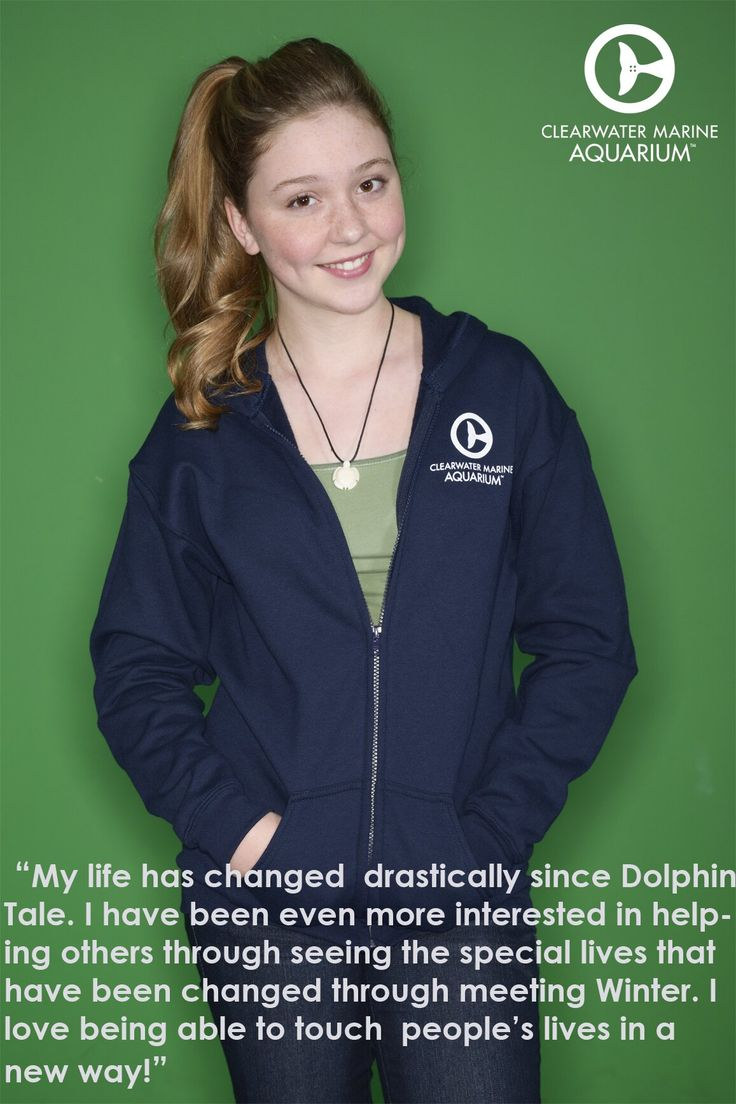 Cozi speaking about how Dolphin Tale 1 and 2 has changed her life.
