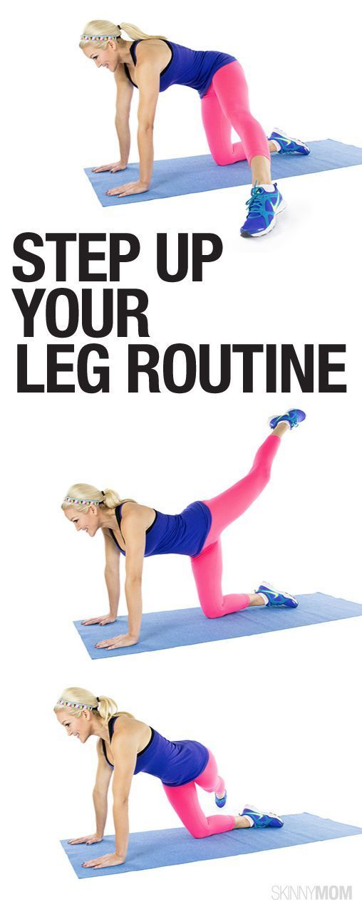 Get sexy legs with this workout.