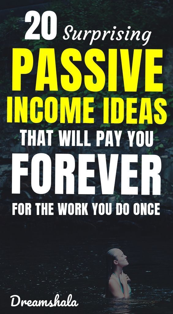 20 Legit Passive Income Ideas To Make Money While Sleeping – #earn #ideas #incom… – Dance Studio