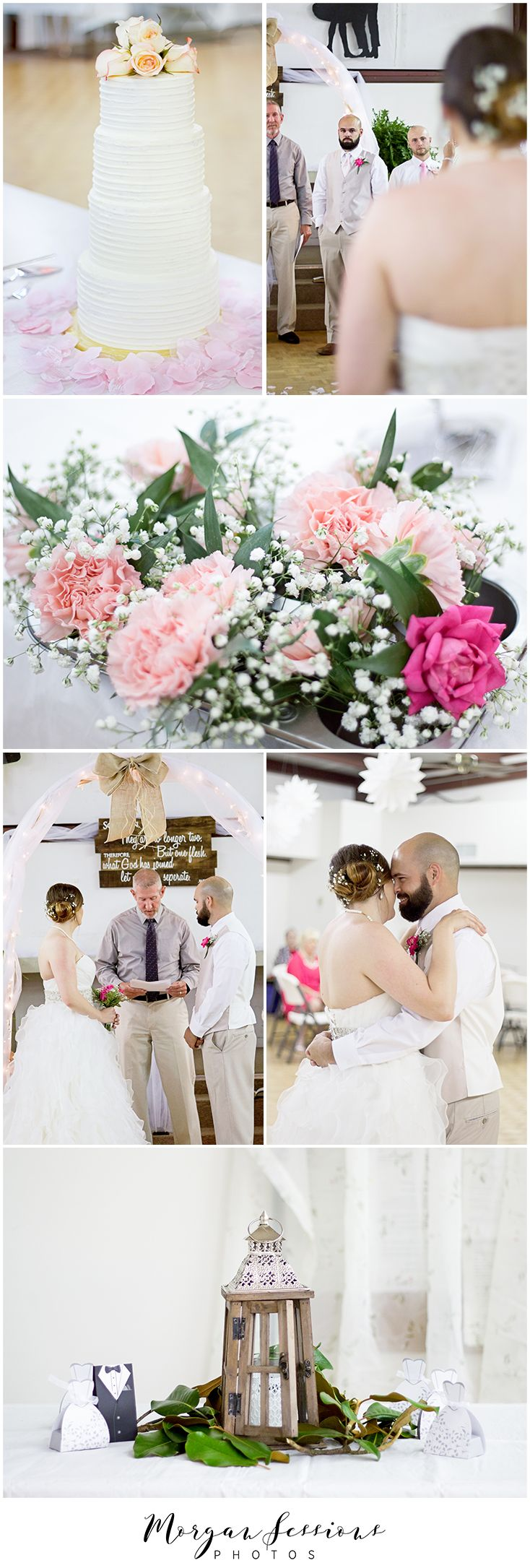 Wedding. First Dance. Bride and Groom. Wedding Details. Wedding Cake. Wedding Flowers. Bridals. Walking down the isle. Groom's reaction. Morgan Sessions Photos.