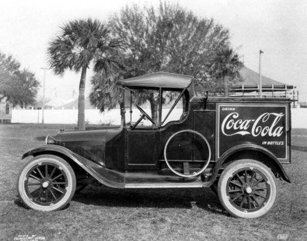 Tampa Coca-Cola Bottling Company truck (1920). | Florida Memory