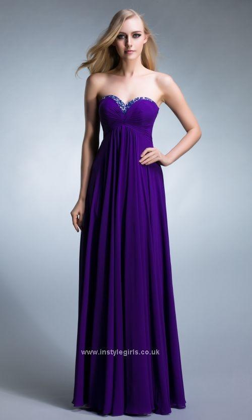 3b4ef26e Strapless Sequin Neckline Purple Formal Dresses Prom Dress 2013