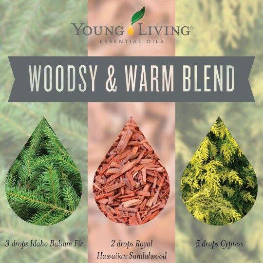 Woodsy & warm diffuser blend: balsam fir, Hawaiian sandalwood,  cypress