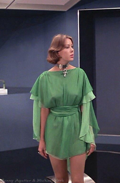 Jenny Agutter, from the Film Logan's Run (1975)