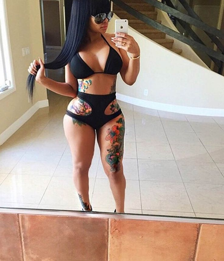 Blac Chyna- skinny is out. Curvy is in! By TK