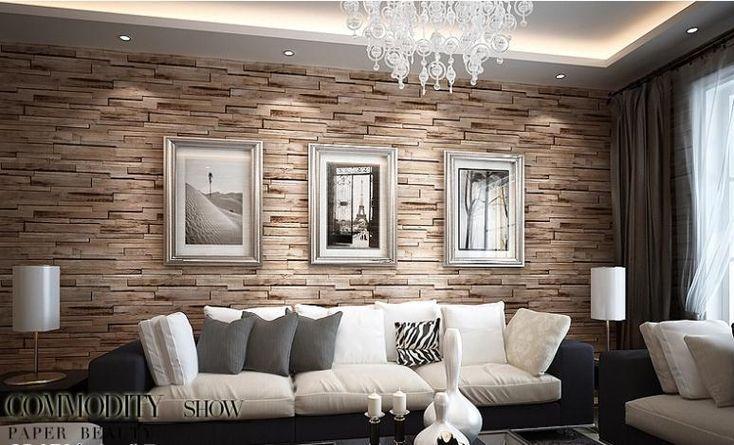 Сельский Современная 3d комната Поддельный кирпичные стены обои спальня винил водонепроницаемый кирпичная стена бумаги домашний декор для ванной комнаты и кухни