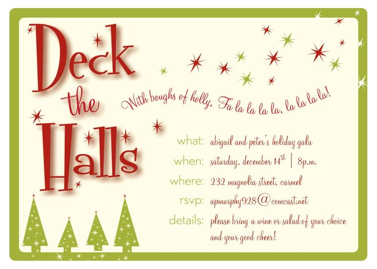 35 best Par-T Har-T images on Pinterest Birthday invitations - downloadable christmas party invitations templates free
