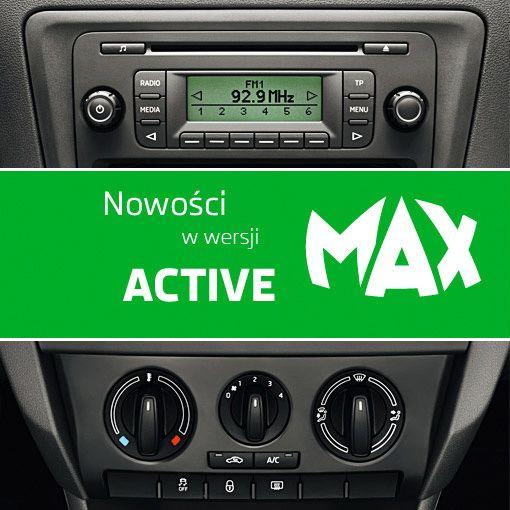 SKODA Rapid  wersja Active Klimatyzacja i radio w zestwie