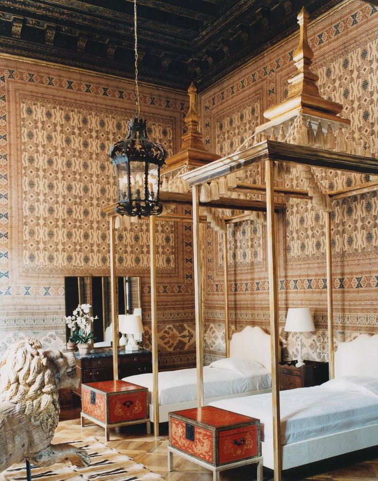 .Pagoda beds