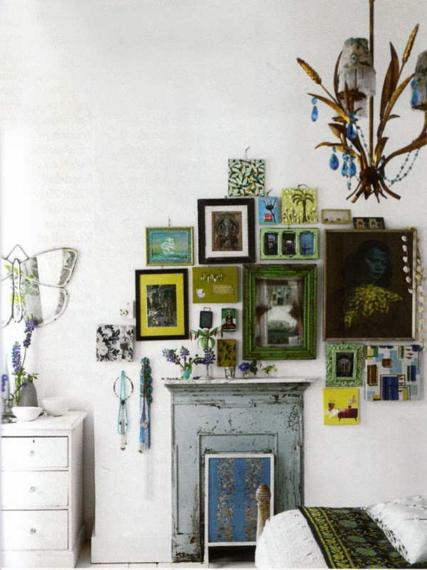 images from Elle Decoration, UK Edition October 2007. Photography by James Merrell